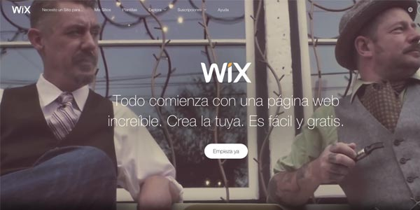 DISEÑO WEB WIX GRATIS