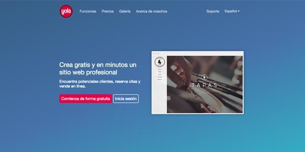 yola crear web profesional gratis