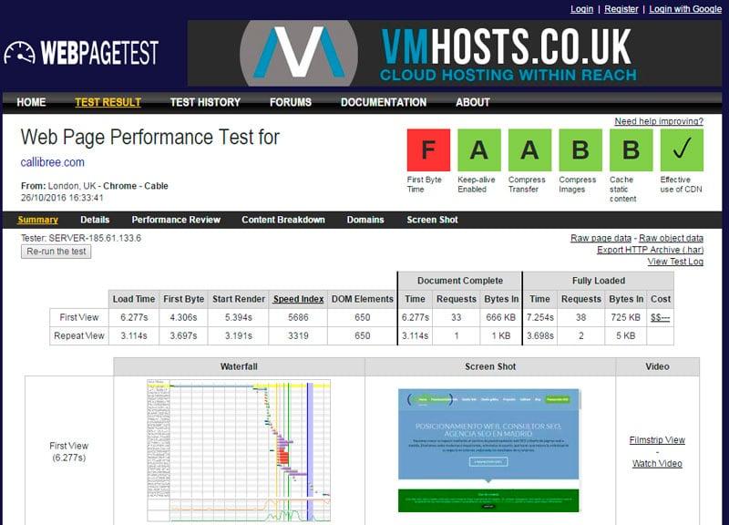 webpagespeed-test