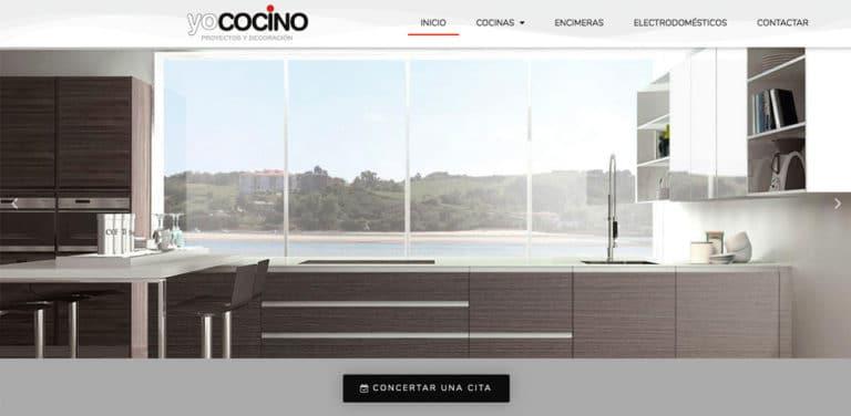 diseño web tienda muebles cocina madrid