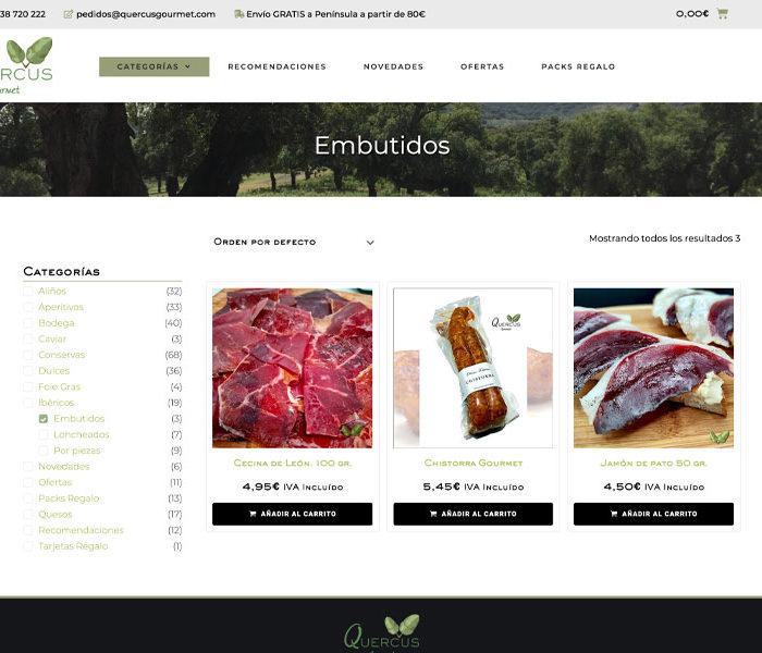 tienda online productos gourmet