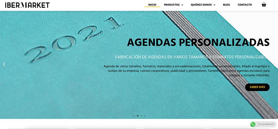 diseño página web imprenta